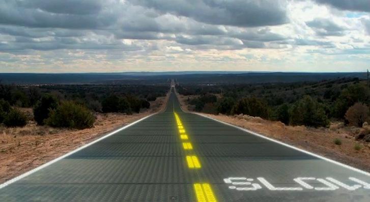 El futuro de la energía solar estaría en las carreteras