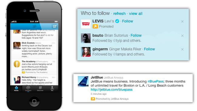 Twitter mostrara muy pronto más tuits pagados en español