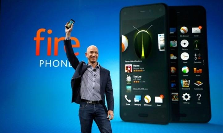 Fire Phone, el primer smartphone de Amazon fue presentado oficialmente