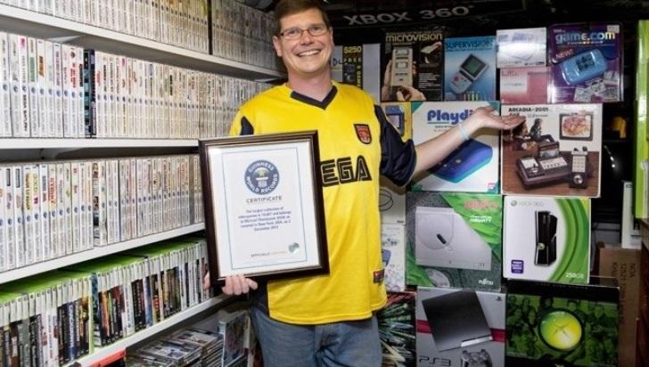 La mayor colección de videojuegos es vendida en US$ 750.250 dólares