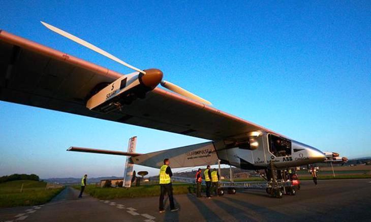 Solar Impulse II: el primer avión que dará la vuelta al mundo sin usar combustible