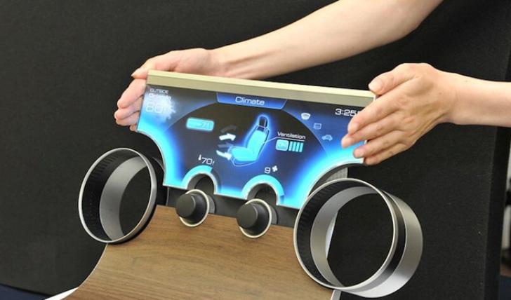 """Sharp presenta sus novedosas pantallas de """"forma libre"""""""
