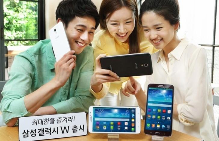 Samsung W, el nuevo smartphone con pantalla de 7 pulgadas