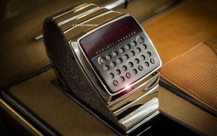 HP-01, uno de los primeros reloj calculadora de HP se vende en US$14.500 dólares