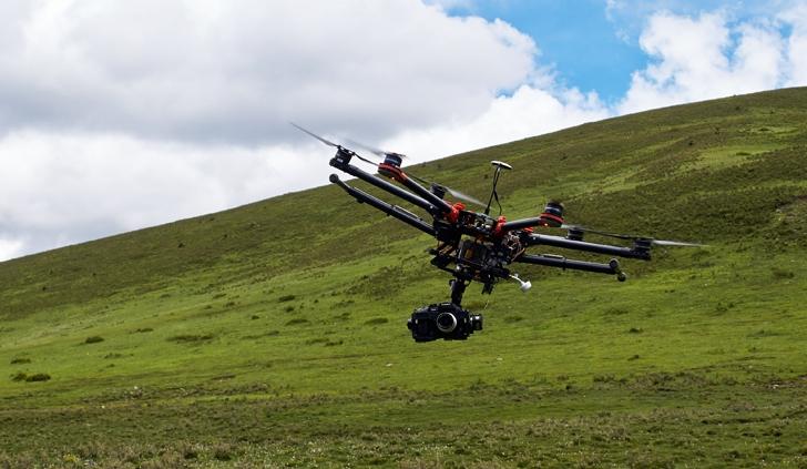 El DJI S900: un potente drone que puede levantar hasta 5 kg de carga