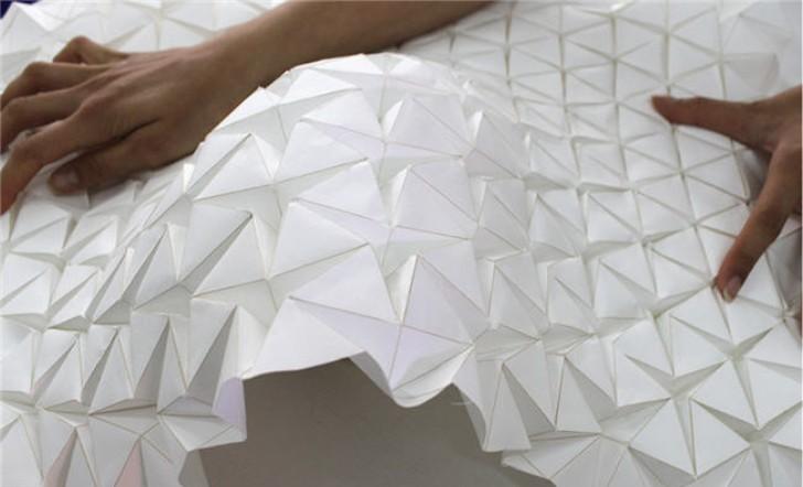 Estructuras arquitectónicas que pueden cambiar su forma según las condiciones ambientales