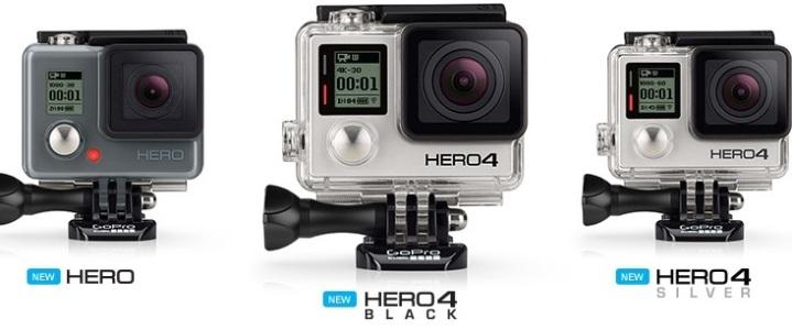 GoPro Hero4, las nuevas cámaras de alto rendimiento