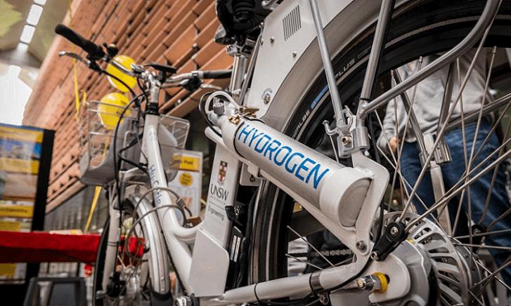 Hy-Cycle, novedosa bicicleta que cuenta con una batería de Hidrogeno