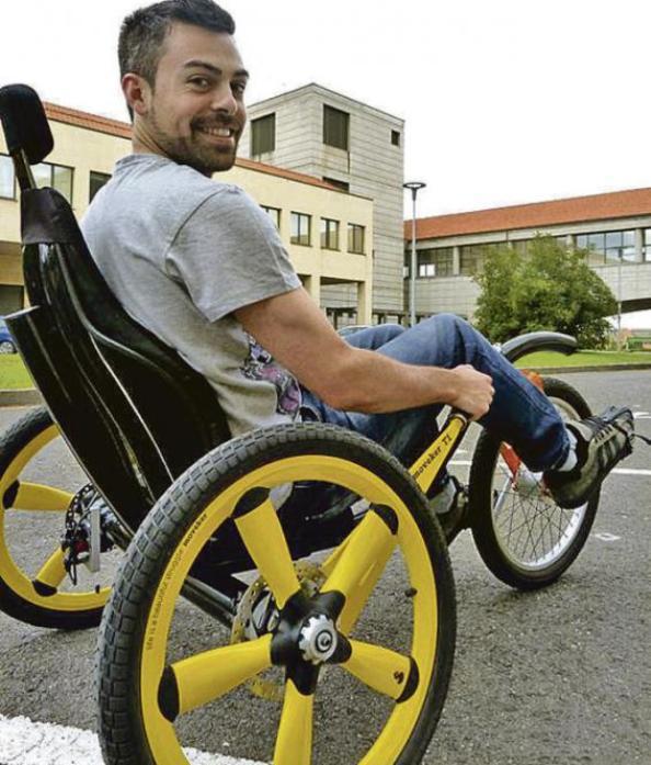 Moveker C1, vehículo especial para personas con discapacidad física