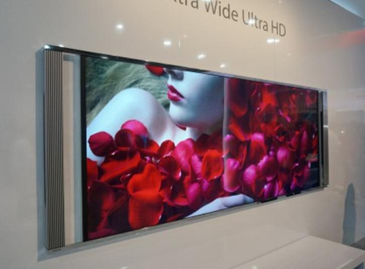 Toshiba se adelanta al futuro con un TV 5K de 105 pulgadas y formato 21:9