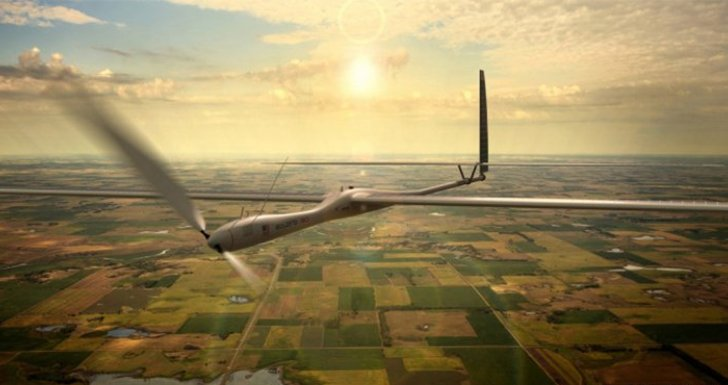 Los drones con internet que pretende lanzar Facebook serian del tamaño de un Boeing 747