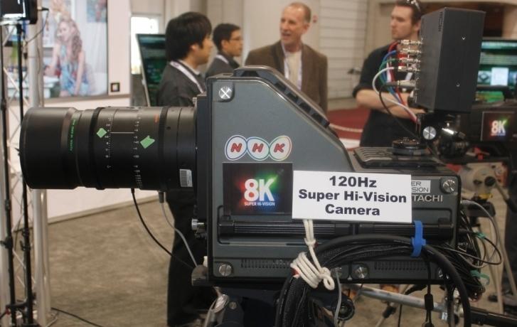 La TV pública japonesa presentará sus primeras emisiones en formato 8K