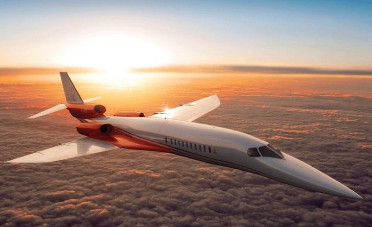 Airbus & Aerion patrocinan el primer avión de negocio supersónico