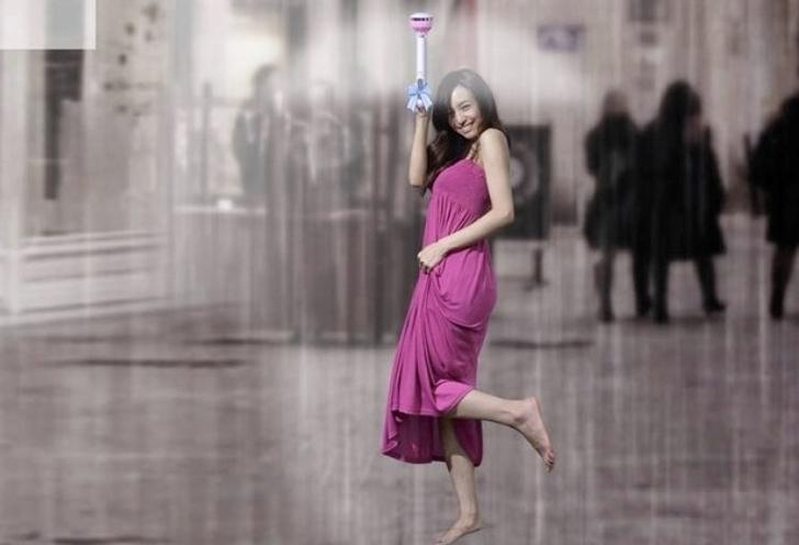 Air Umbrella: El moderno paraguas que funciona con aire