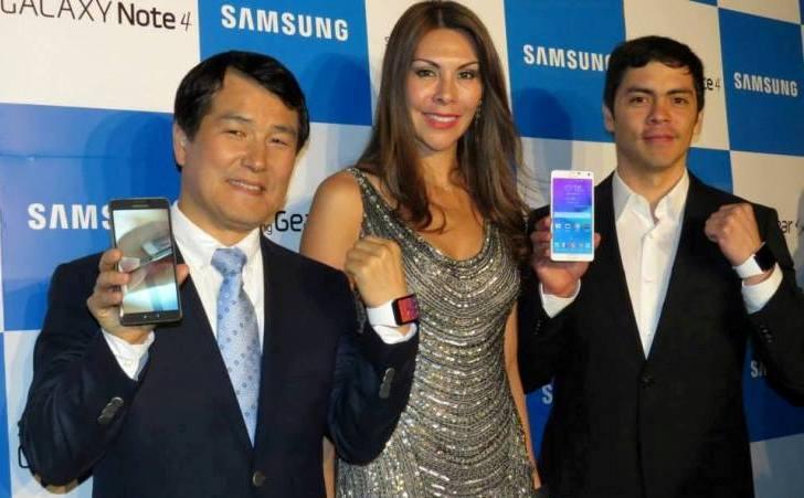 Perú: Samsung presenta el Galaxy Note 4 en exclusiva para territorio peruano