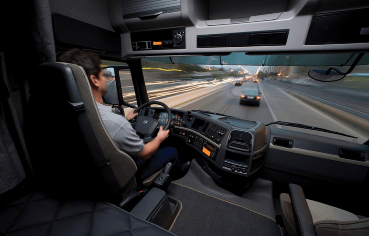 Volvo exhibe moderna tecnología para que conductores de camiones tengan una buena visibilidad