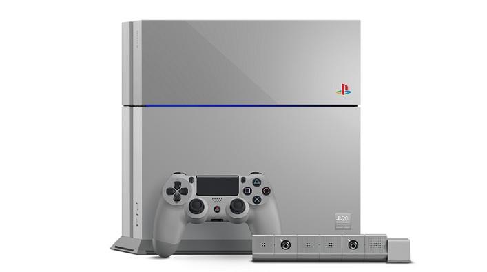 Rematan en eBay una PS4 edición 20 aniversario por US$15.100 dólares