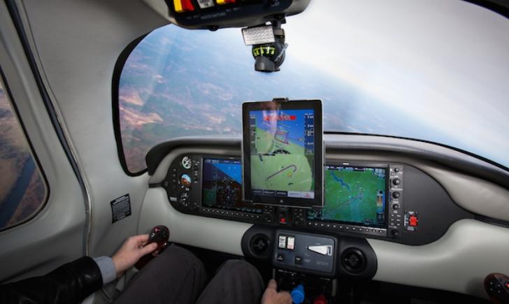 El piloto automático del futuro seria conducido por un iPad