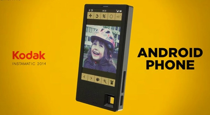 Kodak anuncia su primer teléfono inteligente con Android