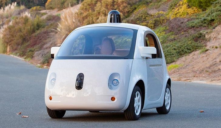 Primera foto oficial del diseño final relativo al coche autónomo de Google