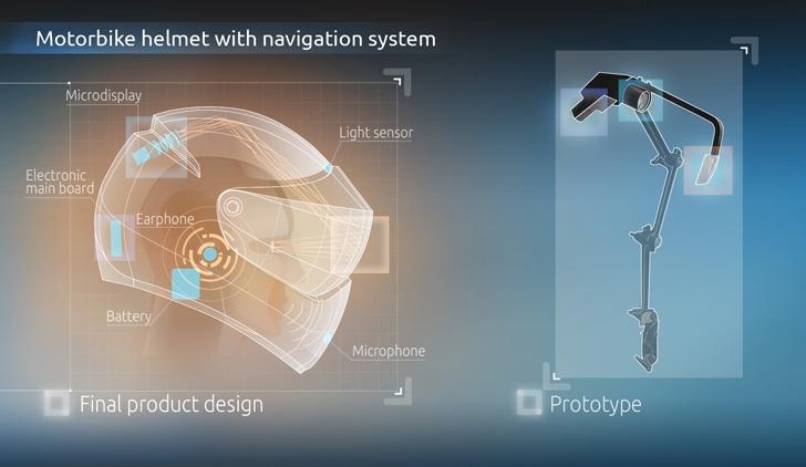 Livemap logra financiamiento para su moderno casco inteligente