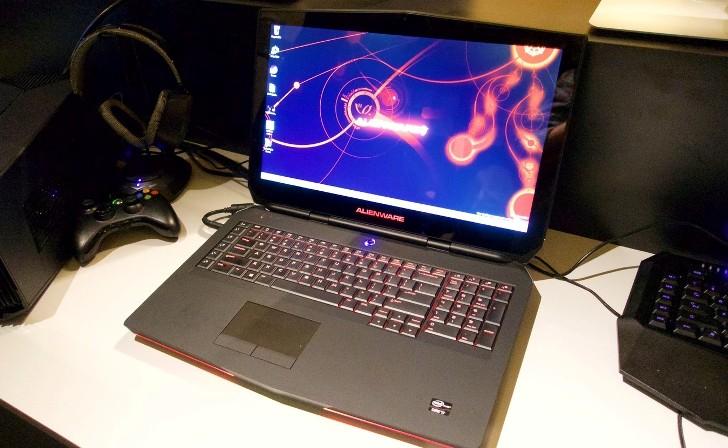 Las nuevas portátiles Alienware grandes en pulgadas pero pequeños en grosor
