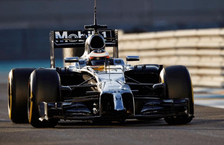 El moderno coche McLaren-Honda MP4-30 que conducirán Button y Alonso