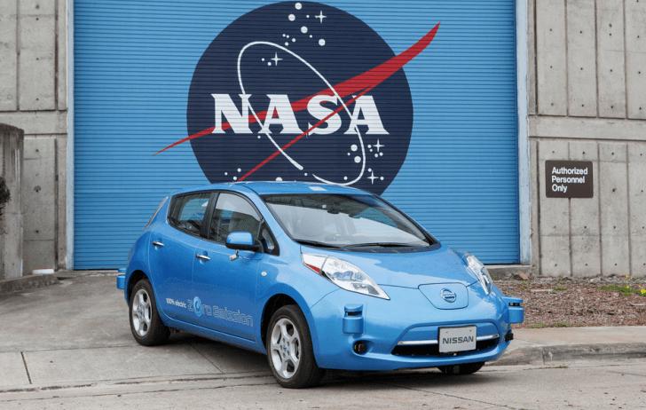 Nissan y NASA se asocian para trabajar en el diseño de futuros coches autónomos