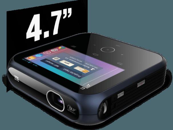 CES 2015: ZTE presenta proyector portátil con Hotspot móvil y plataforma android