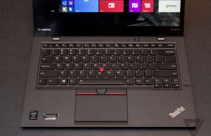 CES 2015: Lenovo presenta su más reciente modelo ThinkPad X1 de carbono