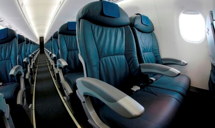 CES 2015: la comodidad de poder viajar en un avión del futuro