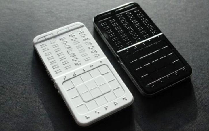 DrawBraille Phone, el teléfono móvil con 'pantalla' en braille especial para ciegos