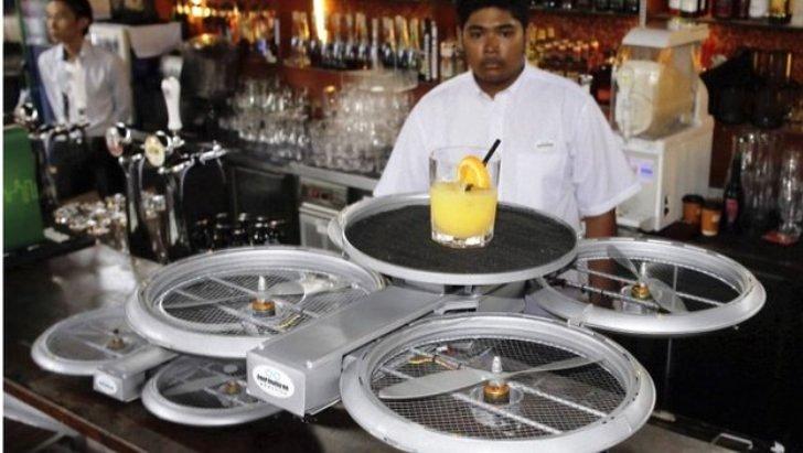 Drones ayudarán a meseros en atender a los clientes en restaurantes de Singapur