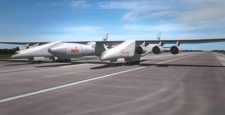 El avión más grande del mundo se encuentra en plena construcción