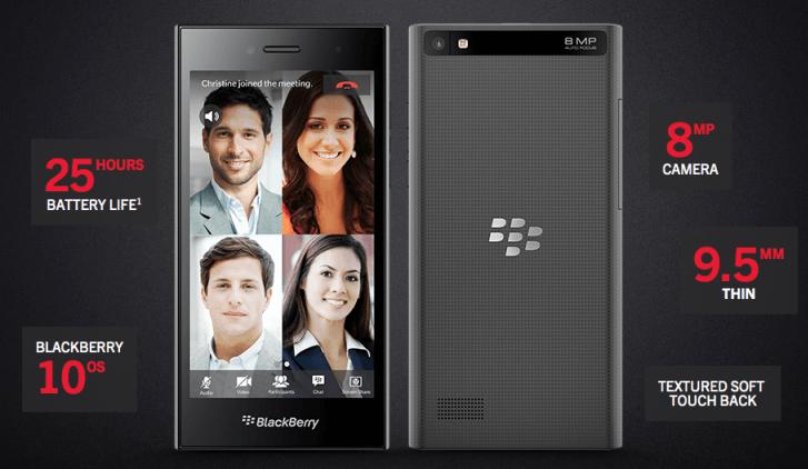 BlackBerry Leap, terminal que se adapta a la pantalla táctil