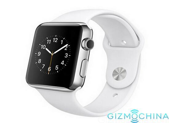 Copias piratas del Apple Watch invaden China