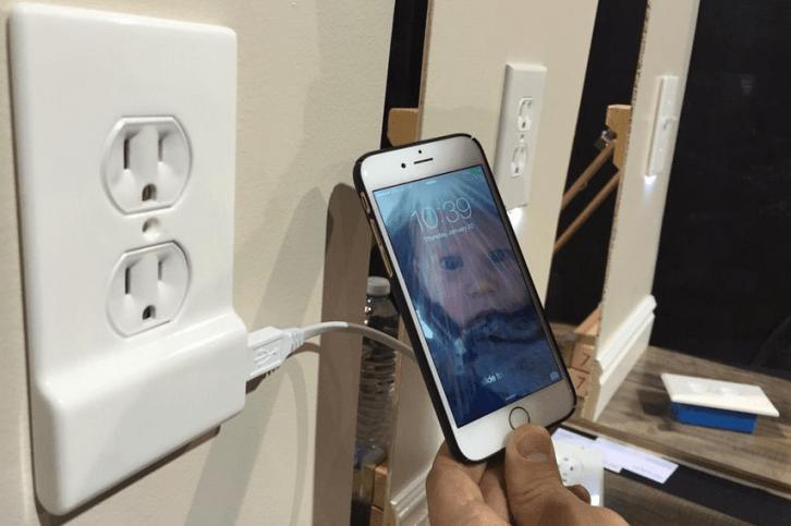 SnapPower Charger: Una enchufe con puerto USB incluido