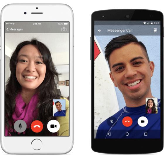 Facebook anuncia las videollamadas para Messenger