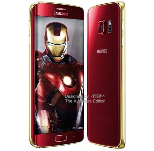 Edición especial Iron Man Galaxy S6 Samsung