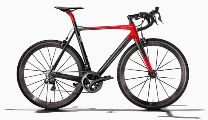 Una espectacular bicicleta de Audi que posee el valor de un coche