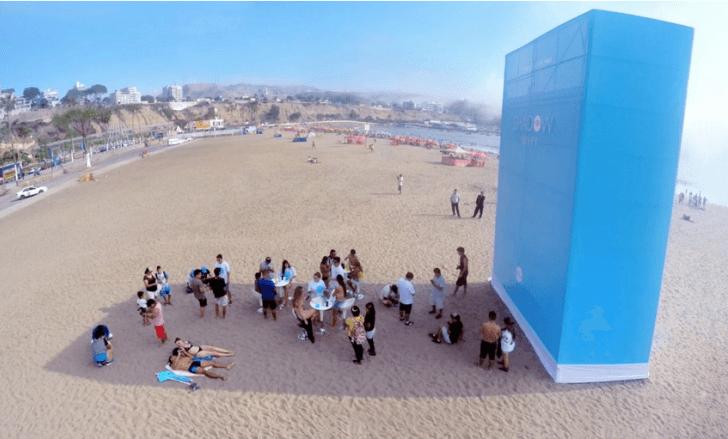Shadow Wi-Fi: Wifi gratis a cambio de reducir tu exposición al sol
