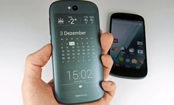 YotaPhone 2, el smartphone de dos pantallas que causa furor en IndieGoGo
