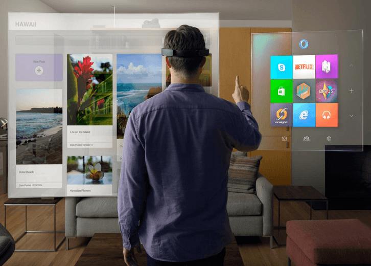 El Windows del futuro será holográfico