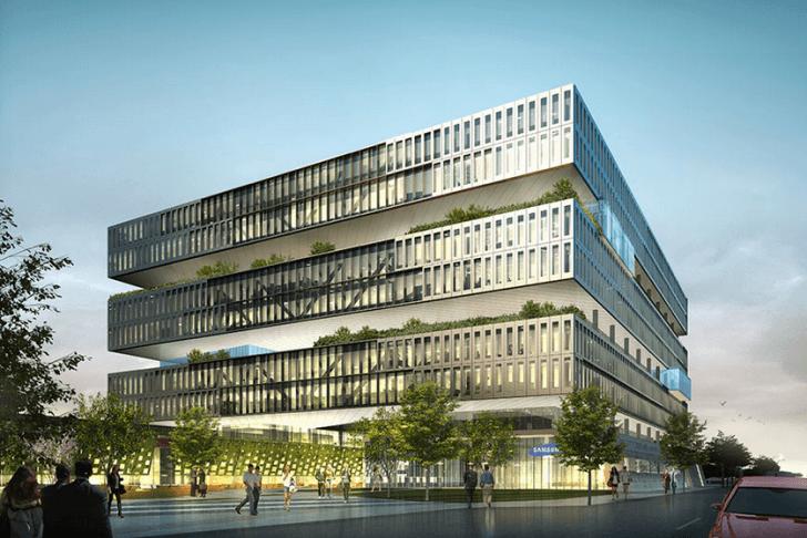 Samsung construye modernas oficinas en Silicon Valley valorizada en US$300 millones
