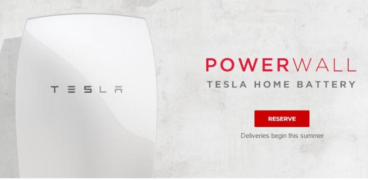 Tesla Energy: las baterías para el hogar de Tesla