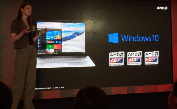 AMD presenta en Computex 2015 su nuevo procesador Carrizo de sexta generación