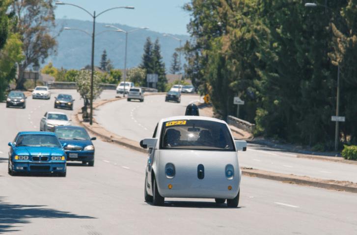 Coche autónomo de Google tiene permiso para recorrer las calles públicas