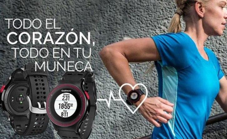 Garmin Forerunner 225, reloj deportivo con GPS y sensor de frecuencia cardíaca