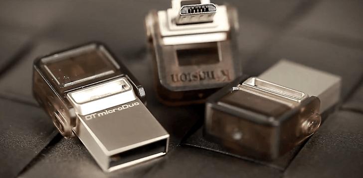 Kingston microDuo 3C: la era del USB Type-C ya está en camino