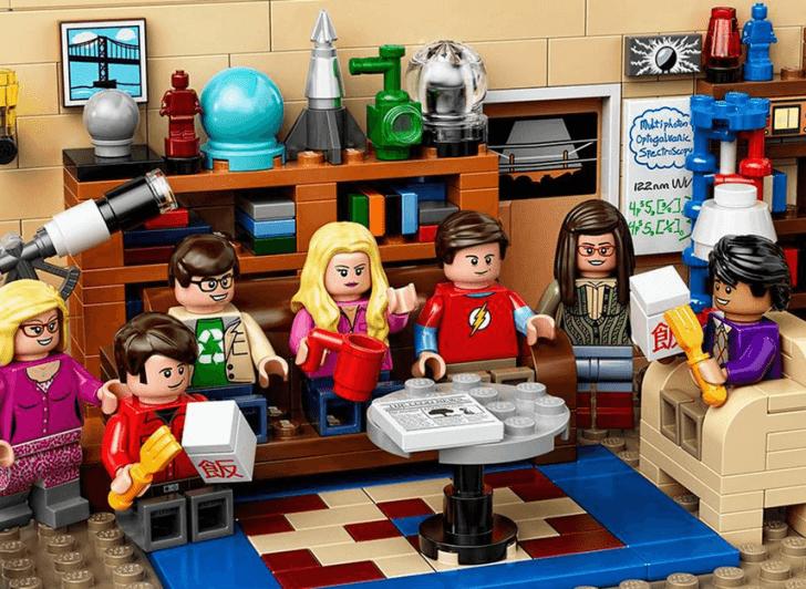 LEGO lanza un set de 'The Big Bang Theory'